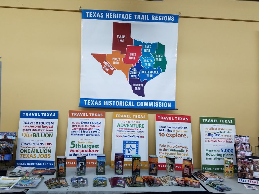 Texas Heritage Trails Pamphlets and Posters